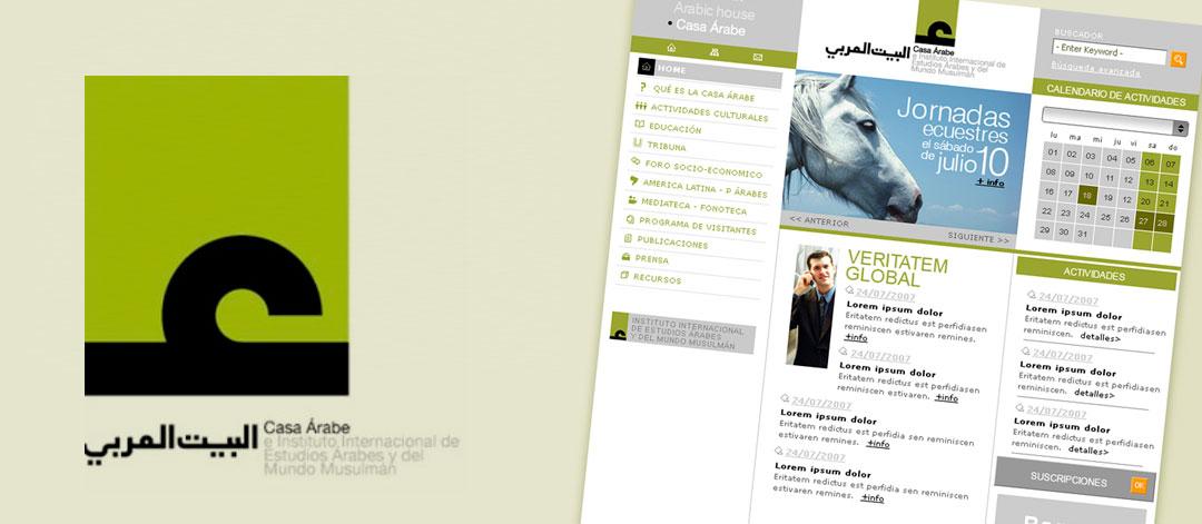 Marketing online Casa Árabe