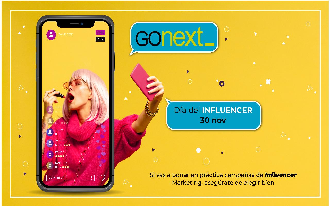 Gonext - Gestion de influencers